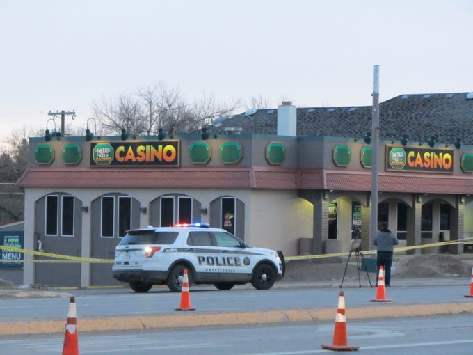 Police closed two westbound lanes of 10th Avenue South Tuesday morning after a triple homicide at the Emerald City Casino.
