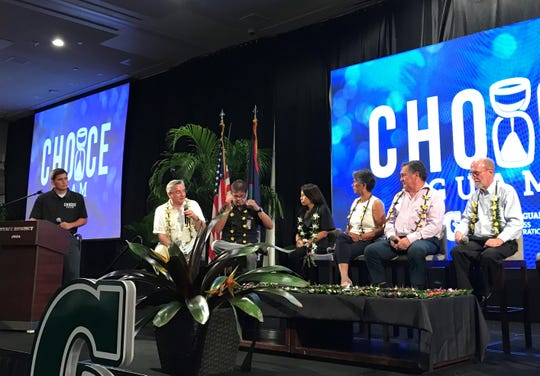 Business leaders discussed Guam's decolonization and self-determination  during the 2019 Biennial Western Pacific Conference, hosted by the University of Guam School of Business and Public Administration and the UOG Regional Center for Public Policy on Tuesday, Dec. 17 at the Hyatt Regency Guam.