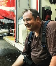Spottsville Firefighter Kevin Dickerson