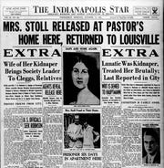 Oct. 18, 1934 Indianapolis Star front page
