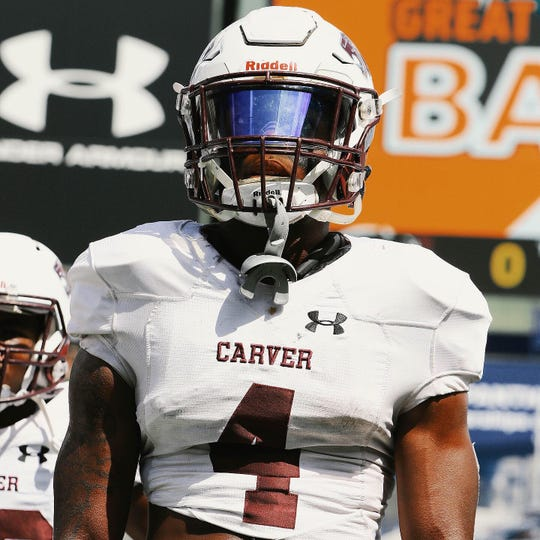 Carver Early College running back Jo'Quavious Marks