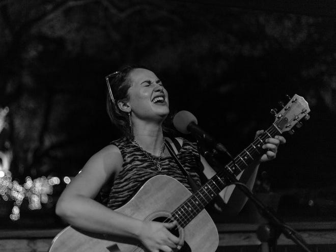 Singer-songwriter Sarah Rumsey will perform Friday at The Wurst Biergarten along with Slumber Party.