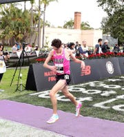 Zach Stewart of Brighton finished 26th in the Foot Locker National Cross Country Championships on Saturday, Dec. 14, 2019 in San Diego.