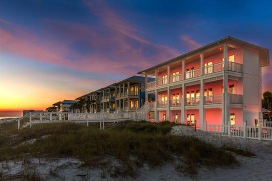 Former U of L football star and actor Matt Battaglia is selling his Gulf of Mexico beach house for $6.95 million