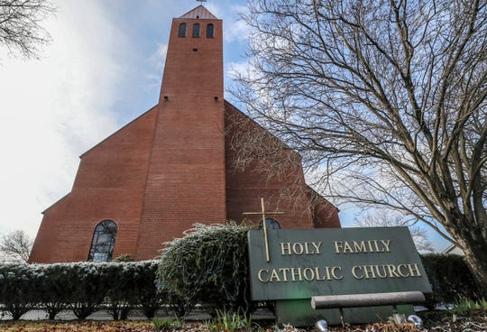 "Holy Family Catholic Church hosts ""Blue Christmas"" holiday services."