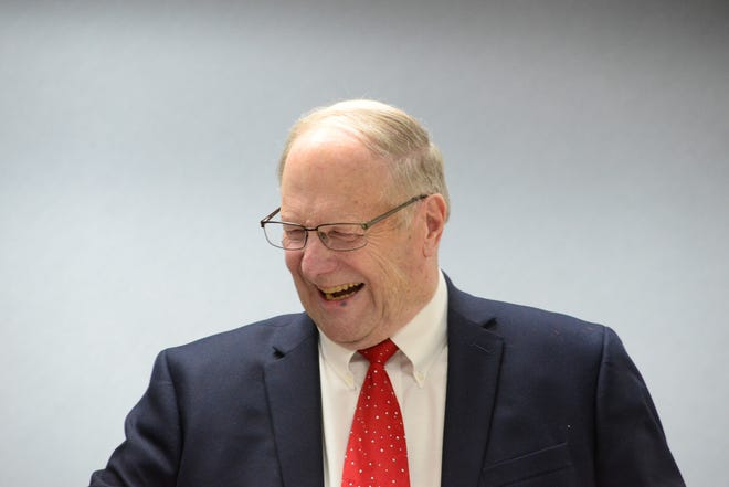 Lexington Village Council passed a resolution Monday naming Village Hall after Gene Parkison, the departing mayor of the village.