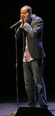 "During the ""Precious Lives Live"" show at the Pabst Theatre in Milwaukee in 2016, Khary Penebaker talked about the loss of his mother to suicide and said she could get a gun easier than mental health care. The show was co-sponsored by the Journal Sentinel and WUWM 89.7-FM Milwaukee's NPR."