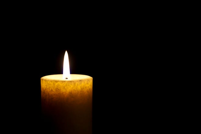Single Candle Burning in the Dark