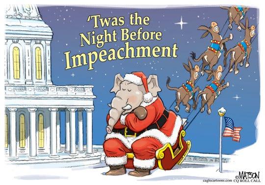 GOP Santa stuck.
