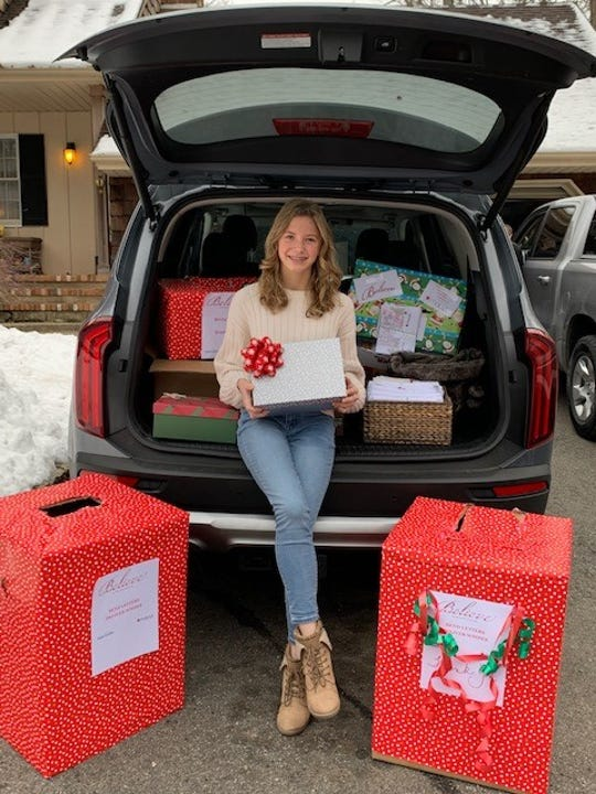 Hannah Boorse, a sophomore at Lakeland Regional High School, recently organized a letter-to-Santa writing campaign that raised more than $20,000 for Make-A-Wish through Macy's.