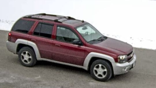 Ryan Jurgens was seen getting into a maroon Chevy Trailblazer with the license plate number AGY-5702