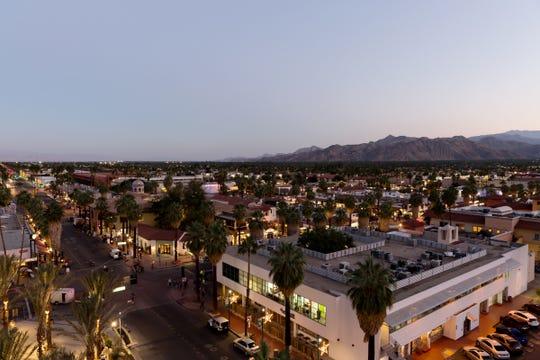 4 Saints at Kimpton Rowan Palm Springs boasts an impressive view of Palm Springs