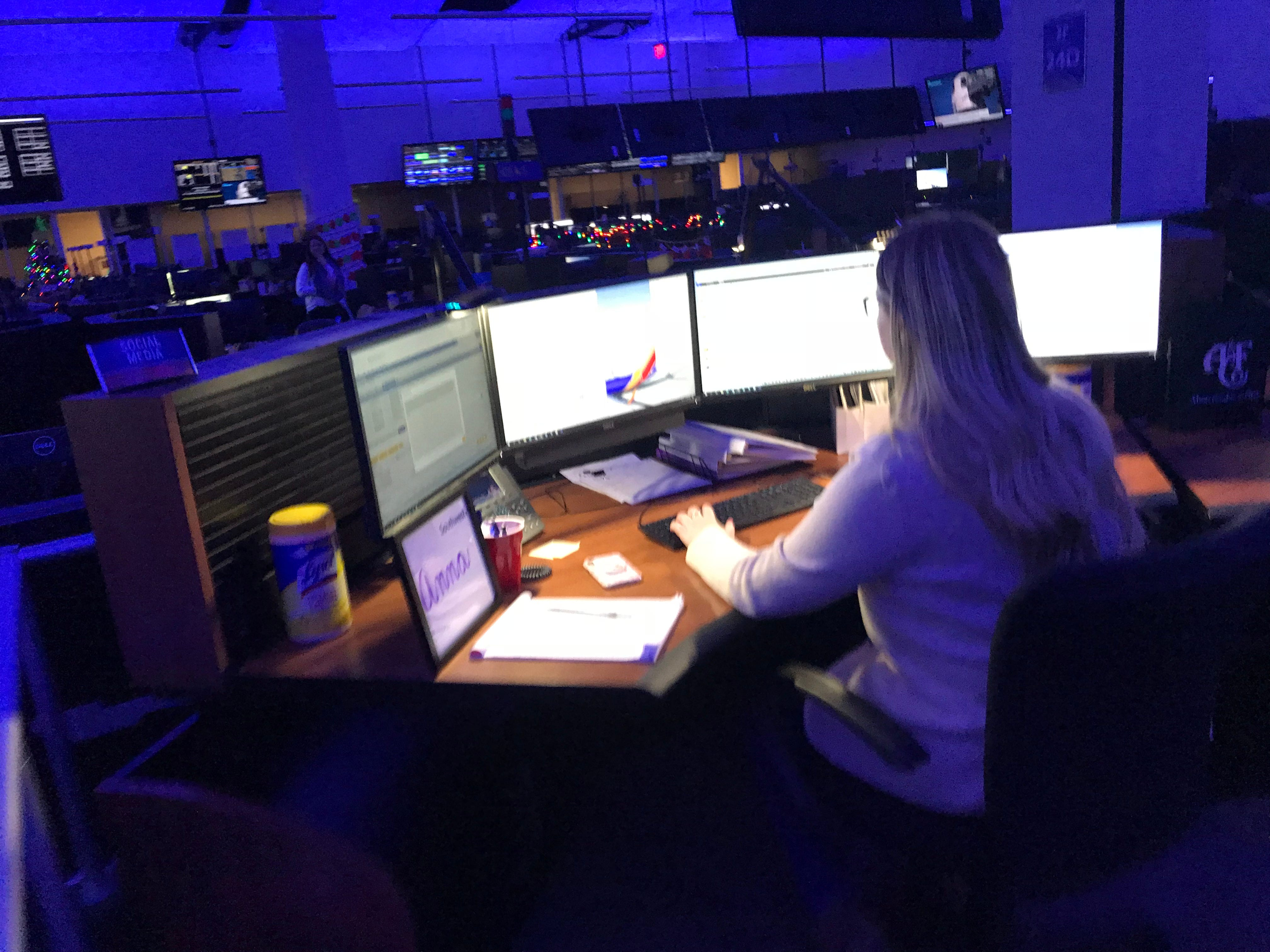 Inside American and Southwest airlines' operations centers: Keeping flights running smoothly