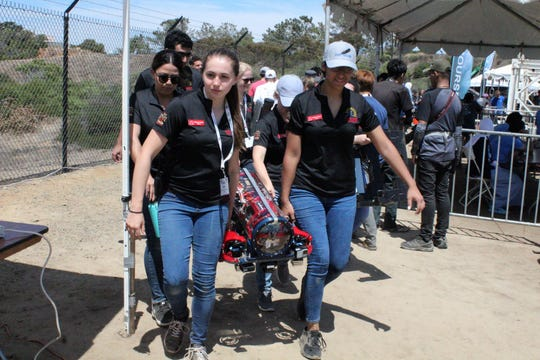 Students of Si Se Puede Foundation compete in underwater robotics competitions. Si Se Puede Foundation offers an innovative science, technology, engineering and mathematics program to youth and young adults attending Title 1 schools.