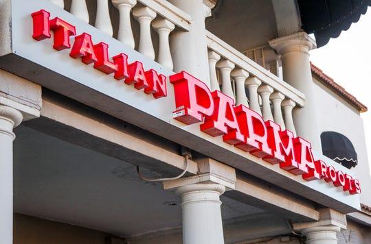 Exterior of Parma Italian Roots restaurant in the 3600 block of East Indian Schoool Road in Phoenix.