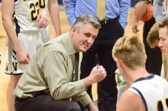 Port Huron Northern coach Brian Jamison led the Huskies to their first league championship since 2001 this past winter.