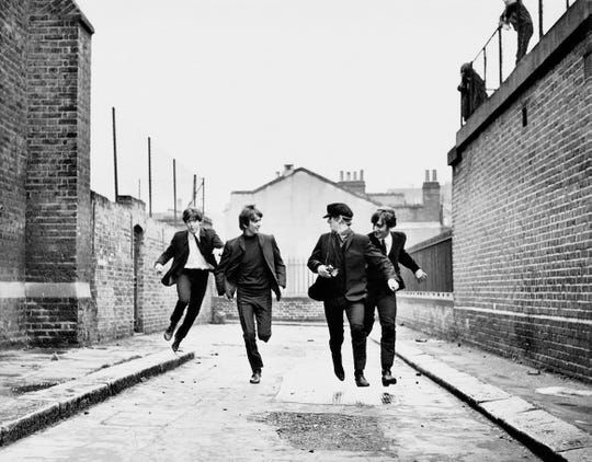"""The Beatles film, """"A Hard Day's Night,"""" was released on July 6, 1964."""