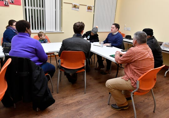 York City holds the final public hearing on the upcoming comprehensive plan, Monday, December 16, 2019. John A. Pavoncello photo