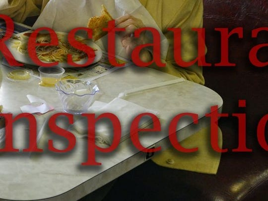 The state Department of Agriculture conducts annual inspections of food-serving businesses to ensure public safety and safe food-handling practices.