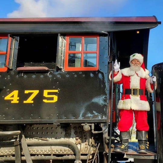 Strasburg Rail Road Christmas trains
