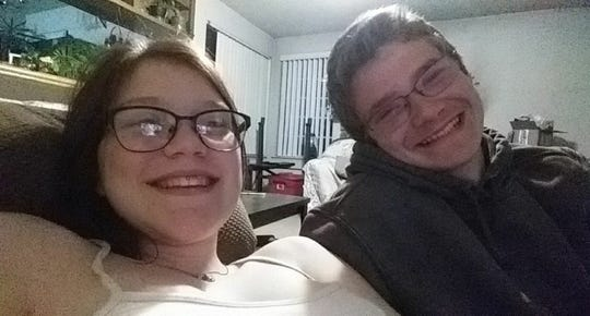 A photo of Audrey Baker, 17, and her 18-year-old boyfriend, James Howard. Howard was stabbed in the chest following a confrontation outside a house in Sun Valley and died of his injury on Thursday, Nov. 28, 2019.