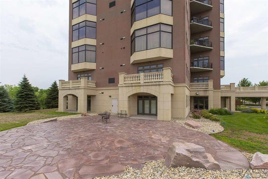 The condo at2908 W. 37th Circle is located just behind O'Gorman High School.
