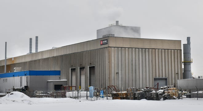 The Grede foundry is pictured Tuesday, Dec. 17, 2019, in St. Cloud.