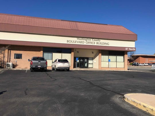 The old Washington County Boulevard Office Building which has been renovated the past six months.
