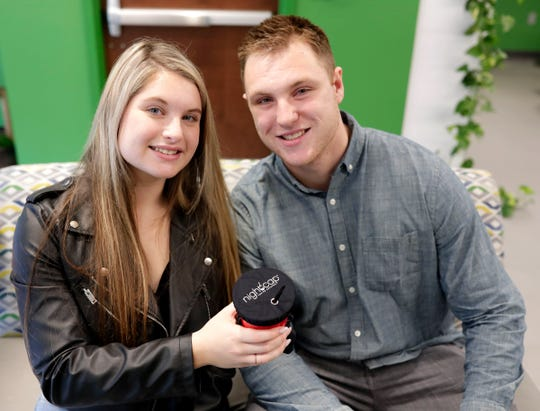 Shirah Benarde, a high school student in West Palm Beach, Fla., and her brother, Michael Benarde, a recent graduate from Florida State University, launched a new business for a product they call NightCap, a drink cover that doubles as a scrunchie. Shirah came up with the idea to help combat victims being drugged while at bars.