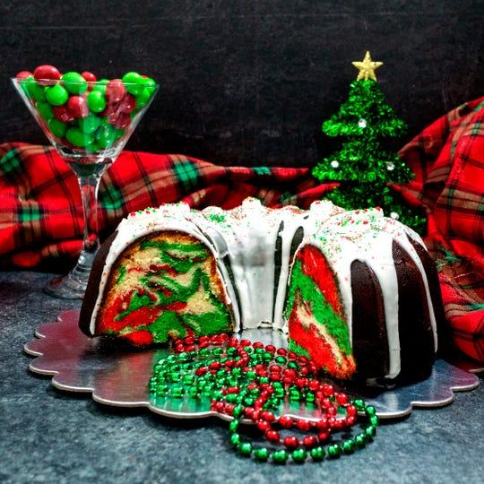 Christmas Surprise Lemon Bundt Cake is sure to impress.