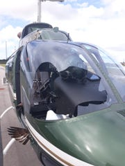 On Veteran's Day 2019 an osprey struck Indian River County Sheriff's Office aviation pilot Bryan Klassen mid-flight forcing him to land the helicopter in an unfinished housing development.