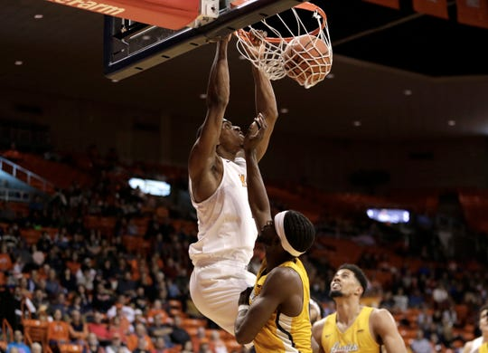 UTEP defeated North Carolina A&T 72-54 Monday in the first round of the WestStar Bank Don Haskins Sun Bowl Invitational. UTEP will face UC-Irvine in the championship game Tuesday night at 7pm.