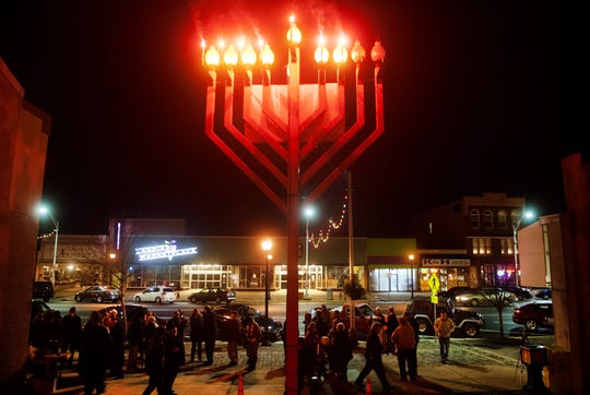 "Main Street Vineland will join the Jewish Federation of Cumberland, Salem & Gloucester Counties in the celebration of Chanukah, the Jewish Festival of Lights, with a Chanukah menorah lighting, ""Chanukah Live,"" at 5:30 p.m. Dec. 23 on the 600 block of Landis Avenue in Vineland."