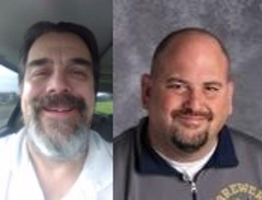 Paul Eck, left, and Steve Weix