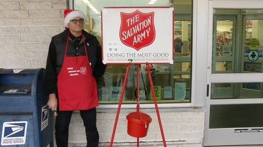 According to the Salvation Army Delaware it's only at 50% of its Red Kettle Drive fundraising goal.