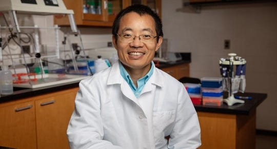 University of Illinois veterinary clinical medicine professor Dr. Leyi Wang led the team that detected bovine kobuvirus in the U.S.