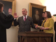 Don Mason was sworn in as mayor of Zanesville on Tuesday at the Stone Academy in front of a crowd of residents and other local government officials.
