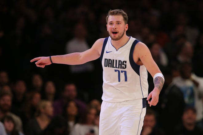 Mavericks guard Luka Doncic is on his way to becoming one of the best players in the NBA.