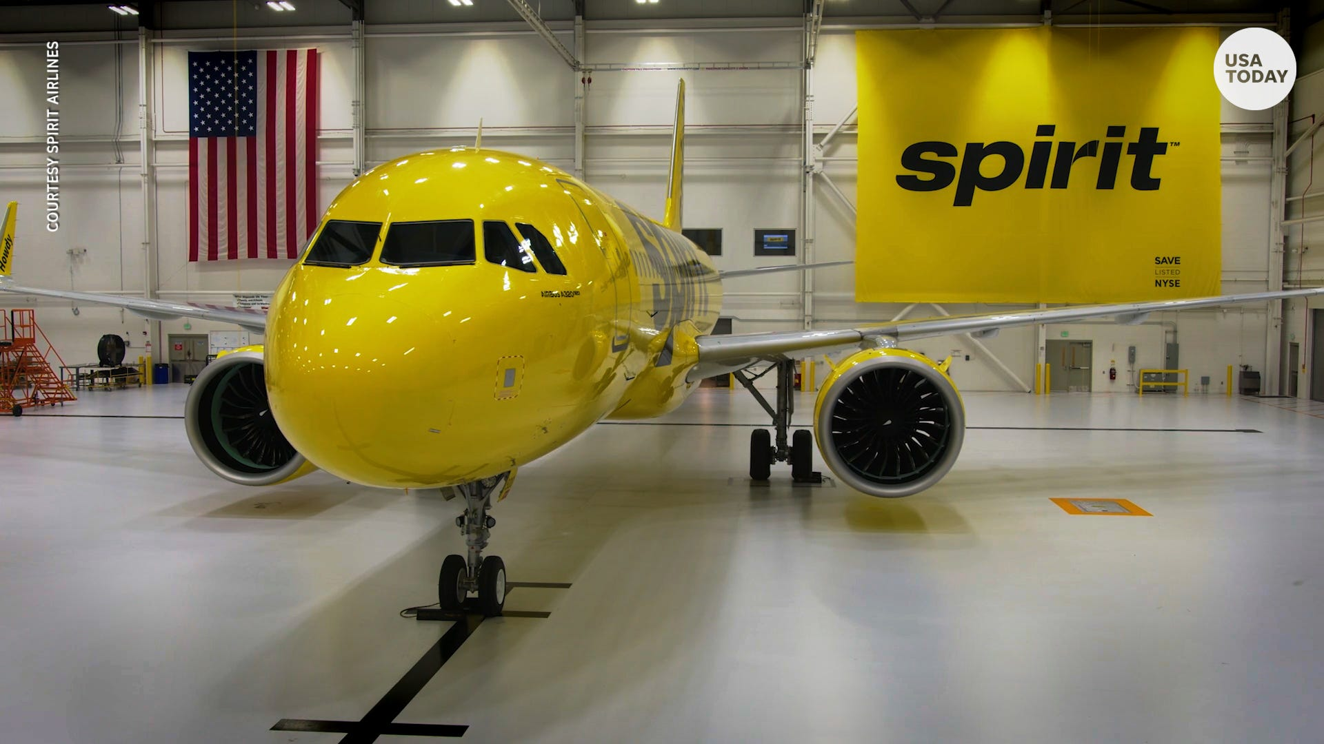Spirit Airlines Carrier Unveils New Seats Tray Tables Cabin Look