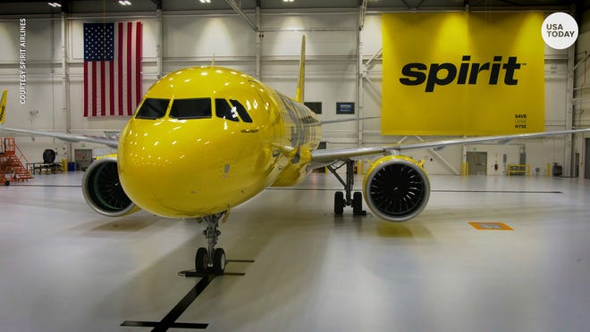 Spirit Airlines Budget Carrier Unveils New Seats Trays Cabin