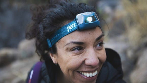 This headlamp will light the way anywhere you go.