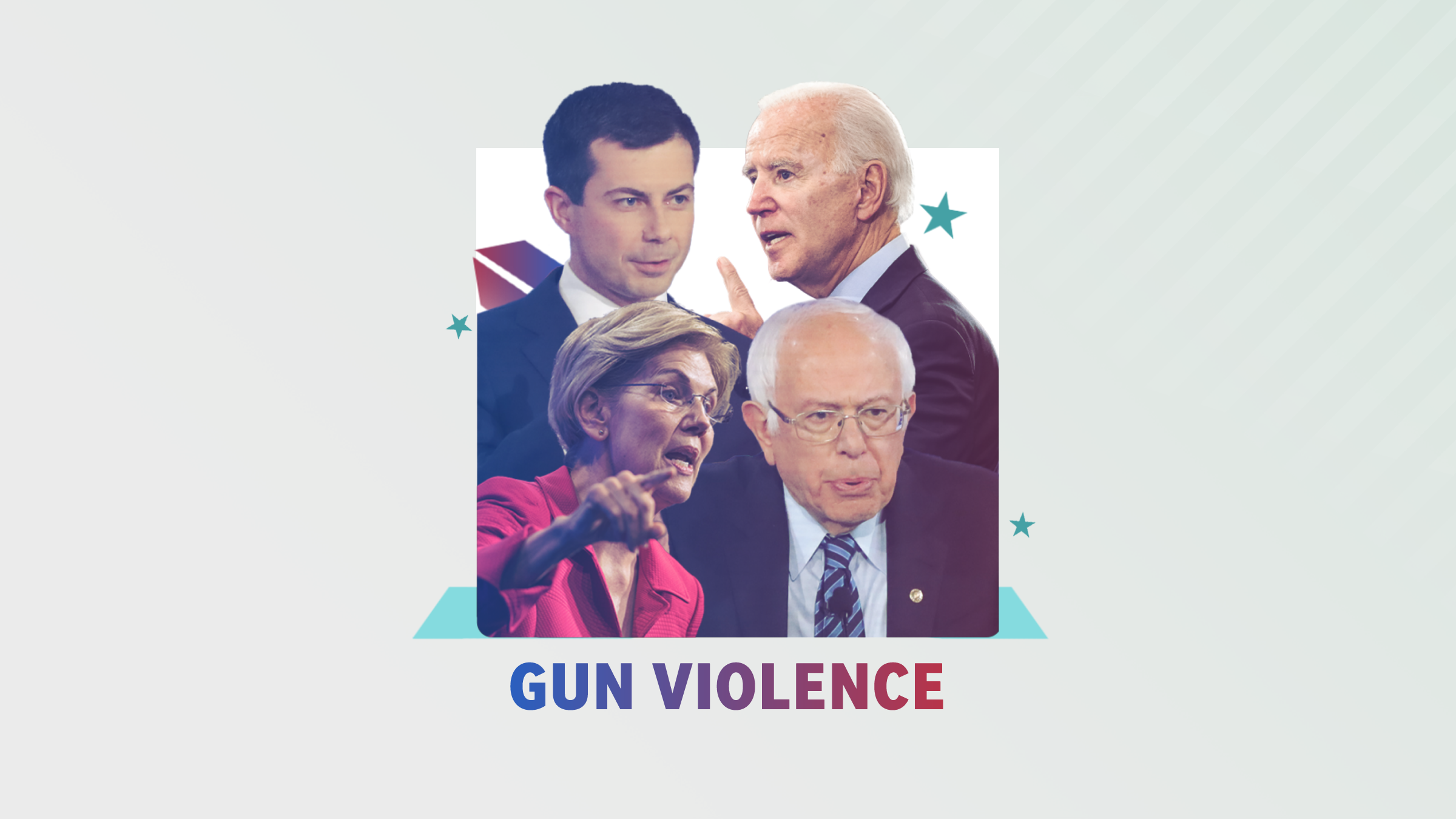 How the 2020 presidential candidates would handle gun violence