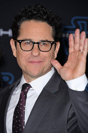 """J.J. Abrams arrived for the world premiere of """"Star Wars: The Rise of Skywalker"""" nervous about people finally seeing the film."""