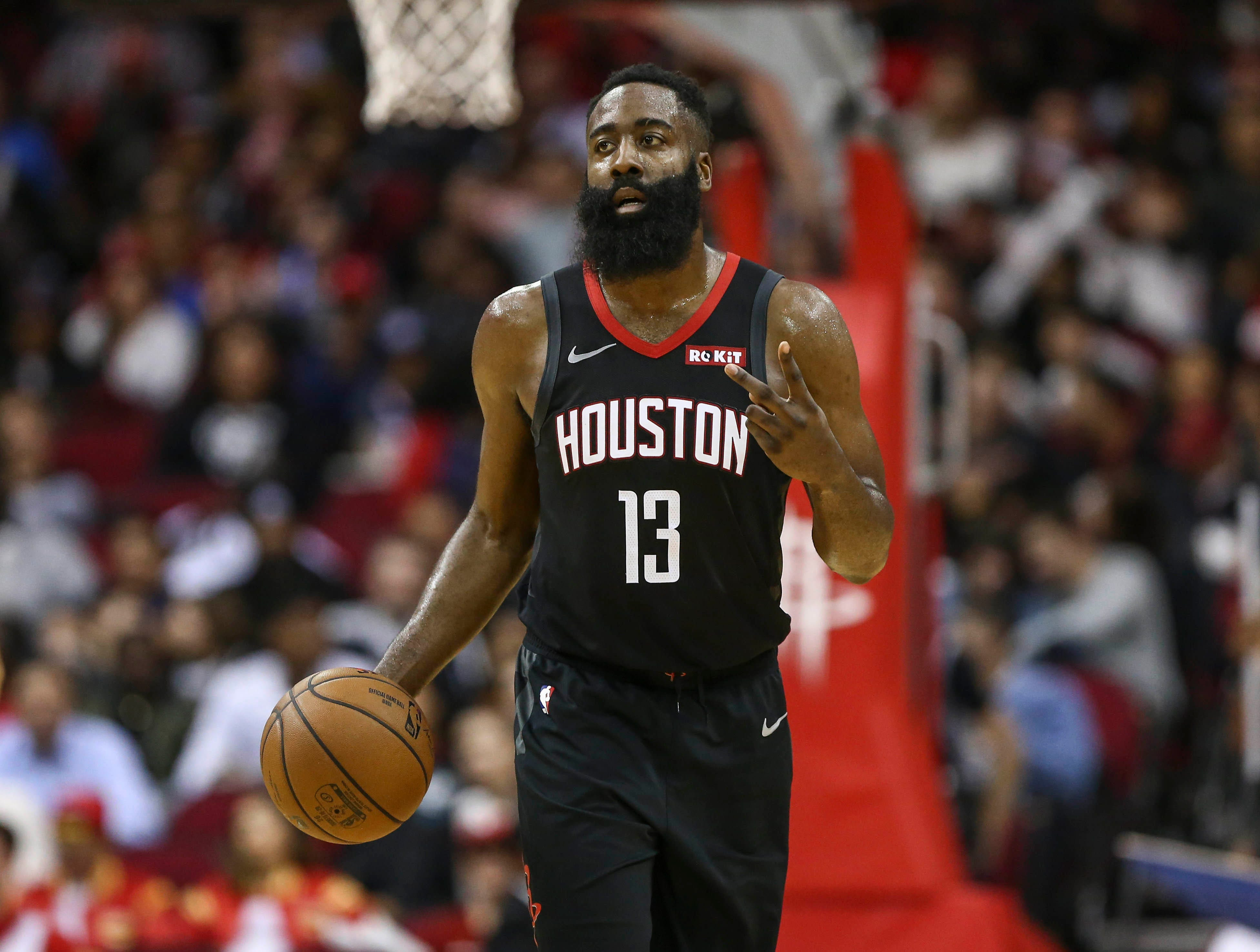 Rockets' James Harden: Five things you
