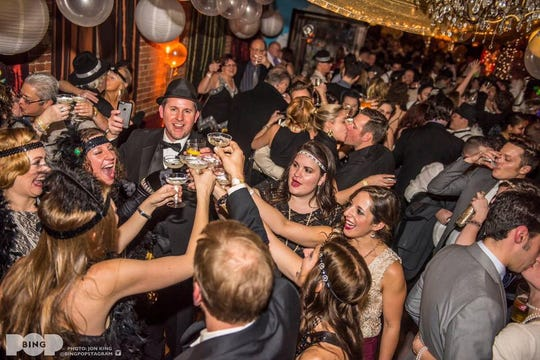 The Lost Dog Café & Lounge will host GlitterBall 2020: New Year's Eve Gala to ring in the new year.