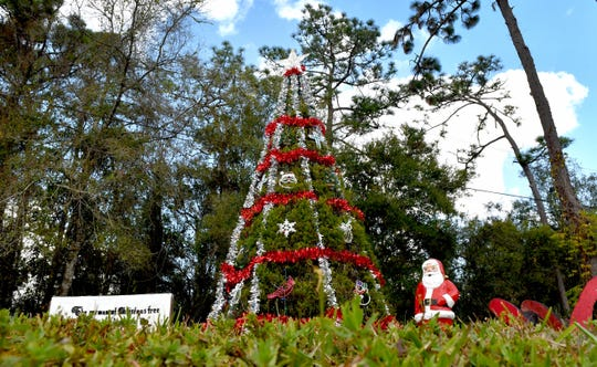 The community of Christmas, Florida, located along State Road 50 (Colonial Drive) between Orlando and Titusville.