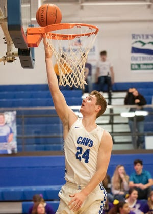 Chillicothe big man Brandon Noel goes up for a layup during a 79-34 win over McClain on Tuesday, Dec. 17, 2019, at Chillicothe High School.
