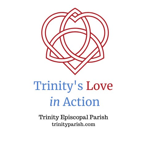 Trinity Episcopal Church welcomes everyone to their fifth Sunday initiative, Trinity's Love in Action.