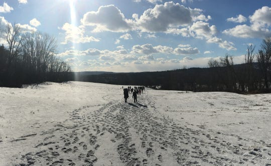 """A free """"Meditative Hike"""" from 1-3 p.m. Sunday, Jan. 5, at New Jersey Conservation Foundation's Hill & Dale Preserve in Tewksbury."""