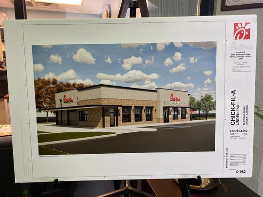 Linden's new Legacy Square shopping center will be getting a Chick-fil-A.